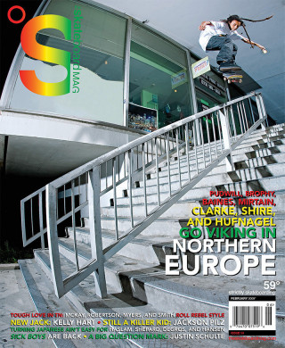 covers - The Skateboard Mag, February 2009