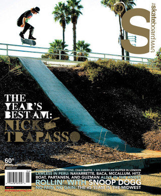 covers - The Skateboard Mag, March 2009