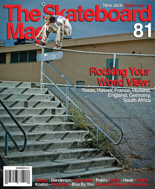 covers - The Skateboard Mag, December 2010