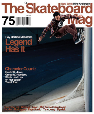 covers - The Skateboard Mag, June 2010