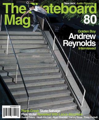 covers - The Skateboard Mag, November 2010