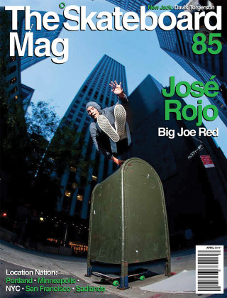 covers - The Skateboard Mag, April 2011
