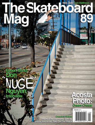 covers - The Skateboard Mag, August 2011