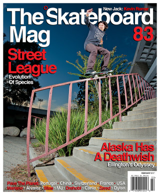 covers - The Skateboard Mag, February 2011