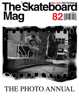 covers - The Skateboard Mag, January 2011