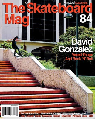 covers - The Skateboard Mag, March 2011