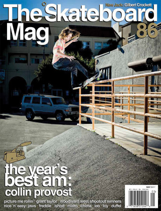 covers - The Skateboard Mag, May 2011
