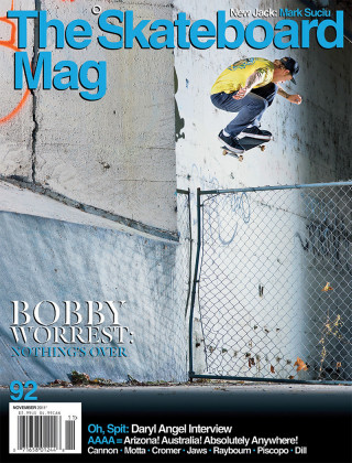 covers - The Skateboard Mag, November 2011