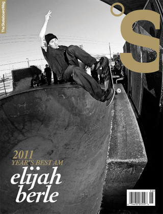 covers - The Skateboard Mag, April 2012