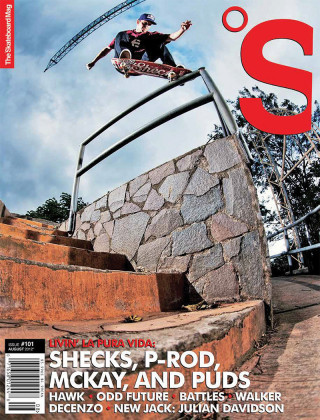 covers - The Skateboard Mag, August 2012