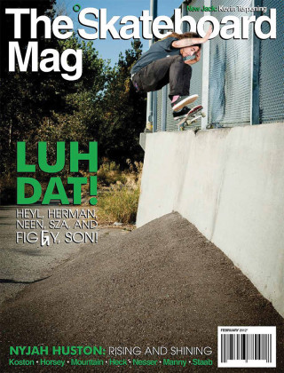 covers - The Skateboard Mag, February 2012