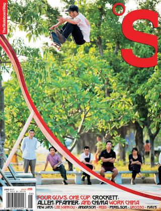 The Skateboard Mag, June 2012