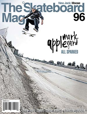 covers - The Skateboard Mag, March 2012