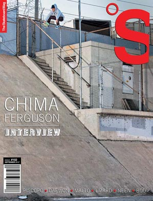 covers - The Skateboard Mag, September 2012