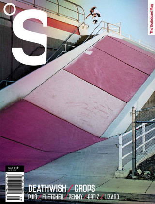 covers - The Skateboard Mag, June 2013