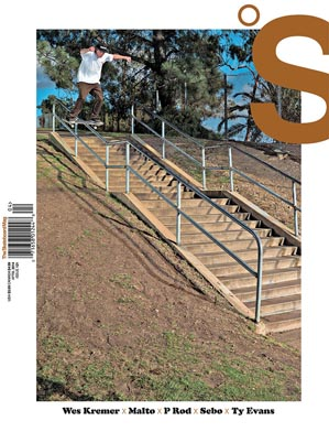 covers - The Skateboard Mag, April 2014