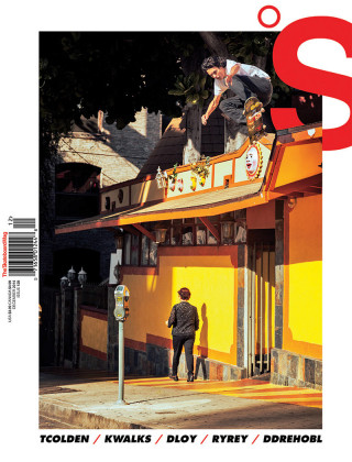 covers - The Skateboard Mag, December 2014