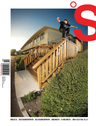 covers - The Skateboard Mag, October 2014