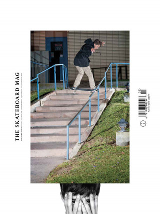 covers - The Skateboard Mag, August 2015