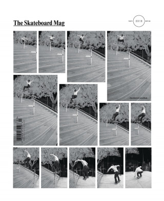 covers - The Skateboard Mag, March 2017