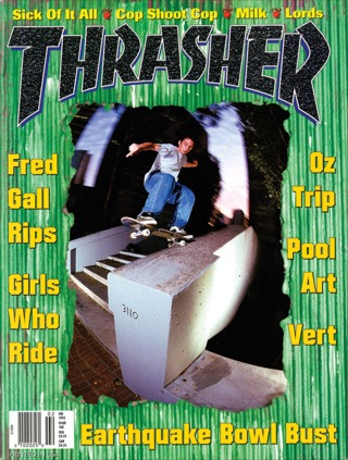 covers - Thrasher, February 1995