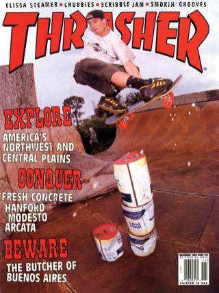 covers - Thrasher, November 1998