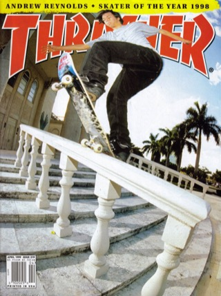 covers - Thrasher, April 1999