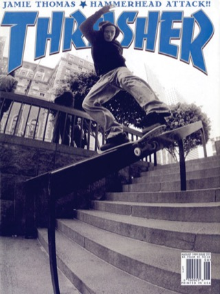 covers - Thrasher, August 1999