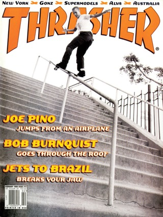 covers - Thrasher, February 1999