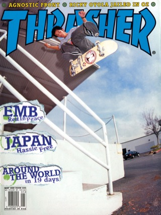 covers - Thrasher, May 1999