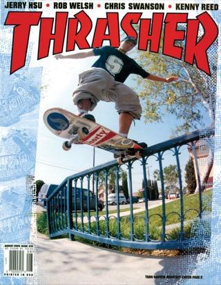 Thrasher, August 2000
