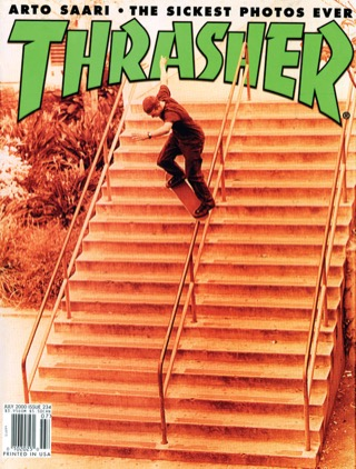covers - Thrasher, July 2000