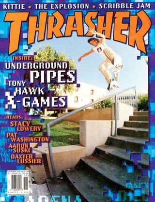 covers - Thrasher, November 2000