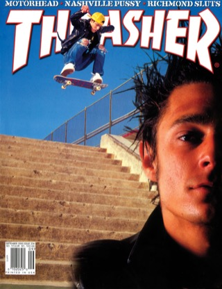 covers - Thrasher, September 2000