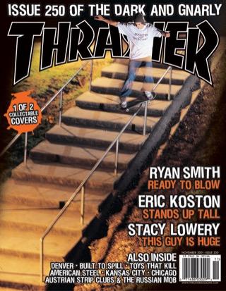 covers - Thrasher, November 2001