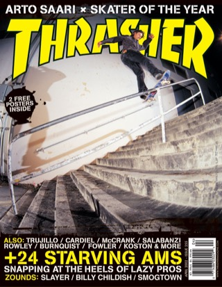 covers - Thrasher, April 2002
