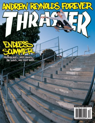 covers - Thrasher, December 2002