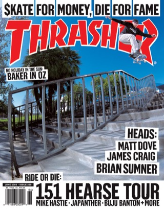 Thrasher, June 2003