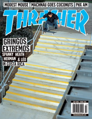 covers - Thrasher, July 2004