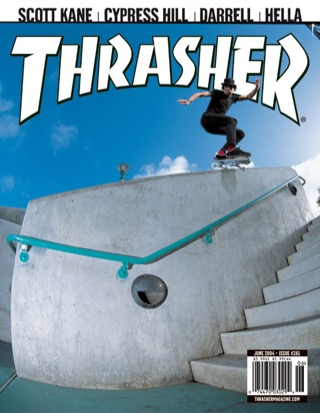 covers - Thrasher, June 2004