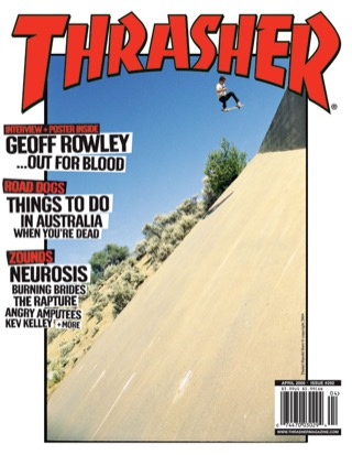 covers - Thrasher, April 2005