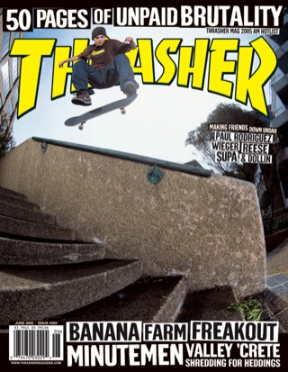 covers - Thrasher, June 2005