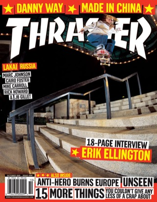 covers - Thrasher, October 2005