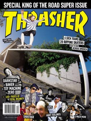 covers - Thrasher, December 2006