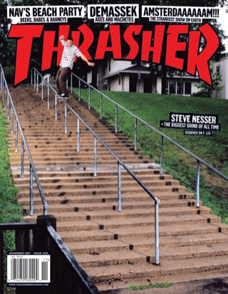 covers - Thrasher, November 2007