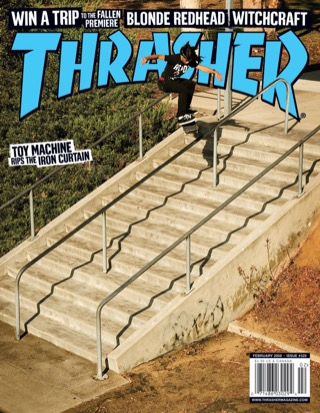 covers - Thrasher, February 2008
