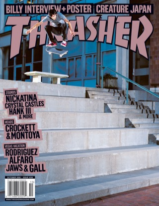 covers - Thrasher, October 2008