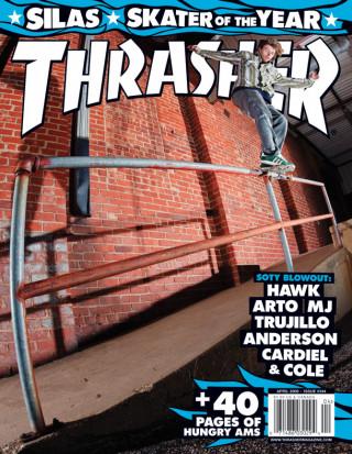 covers - Thrasher, April 2009