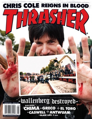 covers - Thrasher, August 2009