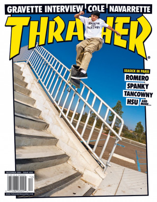 covers - Thrasher, December 2009
